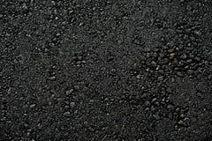 Fundo pavimentado novo do asfalto da superfície de estrada Fotos de Stock Royalty Free