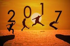 Fundo pelo ano feliz da notícia Imagens de Stock Royalty Free