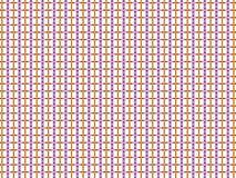 Fundo pequeno abstrato dos quadrados brancos e linhas coloridas Fotos de Stock