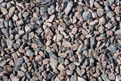 Fundo pequeno das rochas Foto de Stock Royalty Free