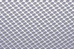 Fundo perfurado de alumínio, textura para a indústria, projeto 3d ilustração stock