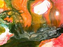 Fundo pintado à mão abstrato criativo Imagem de Stock Royalty Free
