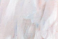 Fundo pintado à mão abstrato da lona do grunge foto de stock
