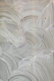Fundo pintado à mão branco abstrato imagens de stock