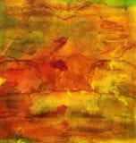Fundo pintado à mão brilhante da aquarela Textura de papel envelhecida feito a mão O Grunge overlay para cartões, convites, Web,  Imagem de Stock Royalty Free