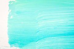 Fundo pintado à mão ciano abstrato imagem de stock royalty free