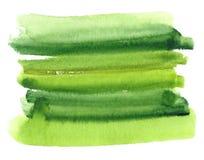 Fundo pintado à mão da aquarela Fotos de Stock