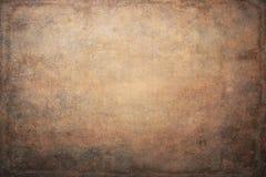 Fundo pintado à mão da arte marrom alaranjada fotografia de stock