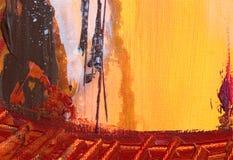 Fundo pintado Imagem de Stock