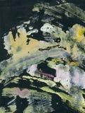 Fundo pintado acrílico abstrato Imagem de Stock Royalty Free