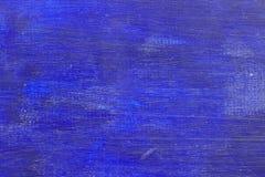 Fundo pintado azul Imagens de Stock Royalty Free