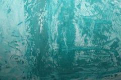 Fundo pintado azul da parede da hortelã Textura colorida abstrata do fundo fotografia de stock royalty free