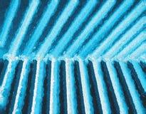 Fundo pintado ciano diagonal dos painéis imagem de stock royalty free