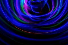 Fundo pintado com luz colorida foto de stock