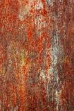 Fundo pintado corrosão do metal imagem de stock
