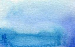 Fundo pintado da aquarela paisagem abstrata foto de stock royalty free