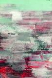 Fundo pintado da textura do detalhe da lona Imagens de Stock