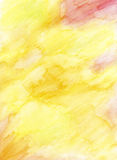 Fundo pintado mão do lápis da aguarela Fotos de Stock Royalty Free