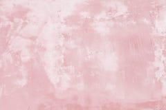 Fundo pintado rosa da textura da parede do Grunge fotografia de stock