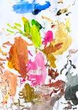 Fundo pintado sumário 02 Fotografia de Stock