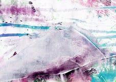 Fundo pintado sumário Imagem de Stock