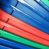 Fundo plástico colorido Fotografia de Stock