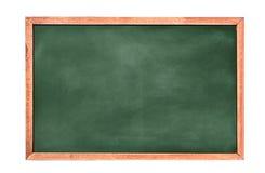Fundo/placa vazios da placa de giz fundo do greenboard Textura do quadro-negro fotografia de stock royalty free