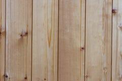 Fundo, placas claras verticais de madeira Fotografia de Stock Royalty Free