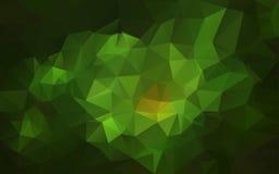 Fundo poligonal abstrato, Foto de Stock