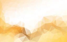Fundo poligonal abstrato, Imagens de Stock Royalty Free