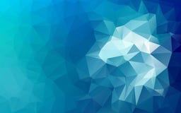 Fundo poligonal abstrato, Imagens de Stock
