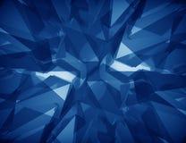 Fundo poligonal abstrato Imagem de Stock Royalty Free