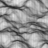 Fundo poligonal abstrato branco Ilustração Stock