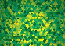 Fundo poligonal abstrato do vetor Fotografia de Stock
