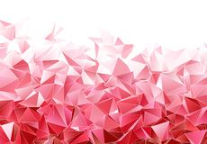 Fundo poligonal abstrato Textura Triangulated ilustração do vetor