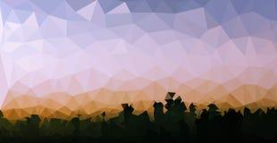 Fundo poligonal do mosaico Imagens de Stock Royalty Free