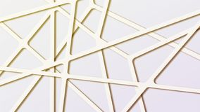 Fundo poligonal molecular do sumário colorido do inclinação com linhas de conexão foto de stock
