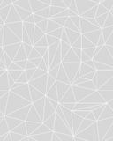 Fundo poligonal sem emenda do teste padrão Imagens de Stock Royalty Free