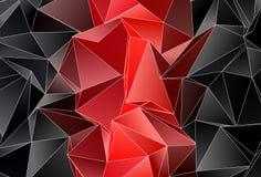 Fundo poligonal Textura triangulated abstrata Fotografia de Stock Royalty Free