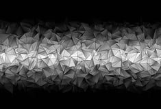 Fundo poligonal Textura triangulated abstrata ilustração royalty free