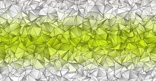 Fundo poligonal Textura triangulated abstrata ilustração stock