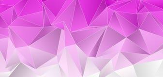 Fundo poligonal Textura triangulated abstrata ilustração do vetor