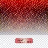 Fundo poligonal transparente colorido abstrato ilustração do vetor