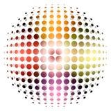 Fundo pontilhado da esfera Imagens de Stock