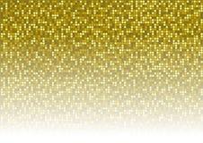 Fundo pontilhado ouro Fotos de Stock