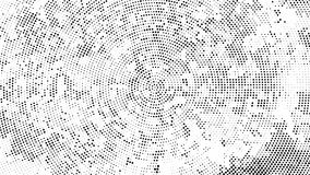 Fundo pontilhado reticulação Teste padrão de intervalo mínimo do vetor do efeito Circ ilustração stock