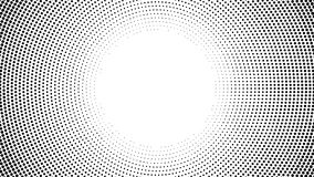 Fundo pontilhado reticulação Teste padrão de intervalo mínimo do vetor do efeito Circ ilustração royalty free