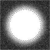Fundo pontilhado vetor Pontilha a textura de intervalo mínimo ilustração stock