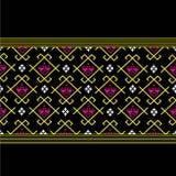 Fundo popular do teste padrão dos sarongues em Tailândia Imagem de Stock Royalty Free