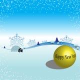 Fundo por o ano novo Imagens de Stock Royalty Free